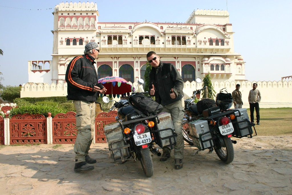 Motorcycle tour to Rajasthan